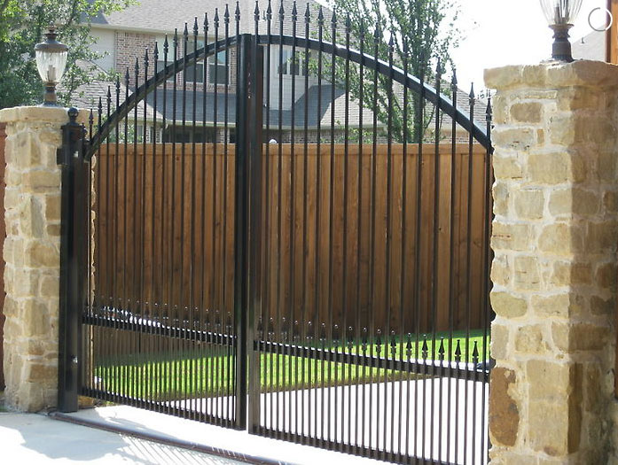 residential gate fence
