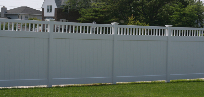 Vinyl fencing phoenix privacy and lattice fence az