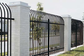 iron bar fence